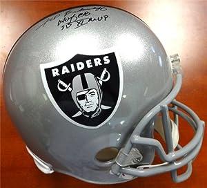 Fred Biletnikoff Autographed Hand Signed Oakland Raiders Full Size Helmet