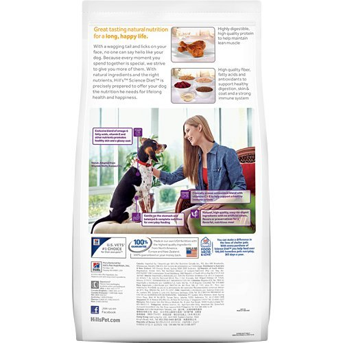 Hill's Science Diet Adult Sensitive Stomach & Skin Dry Dog Food, 30-Pound Bag_Image2