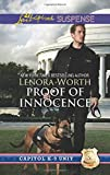 img - for Proof of Innocence (Capitol K-9 Unit) book / textbook / text book