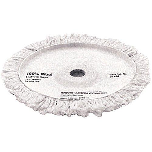 DEWALT DW4988 7-1/2-Inch Wool Polishing Pad 1-1/2-Inch Pile (Dewalt Polisher Pads compare prices)