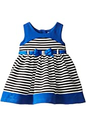 Youngland Baby Girls' Striped Knit Dress