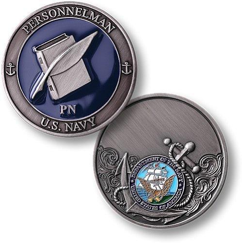 Navy Personnelman - Enamel