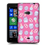 Head Case Yogurt And Ice Cream Fast Food Pattern Back Case For Nokia Lumia 625