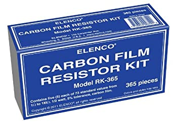 Elenco  365 Piece Resistor Kit
