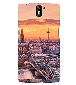 PRINTSWAG CITY Designer Back Cover Case for ONE PLUS ONE