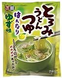 正田 とろみうどんつゆはんなりゆず味 (46g小袋×2食)×10個