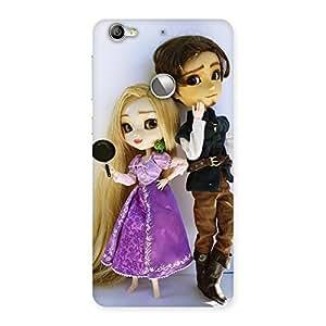 Cutest Couple Multicolor Back Case Cover for LeTV Le 1s