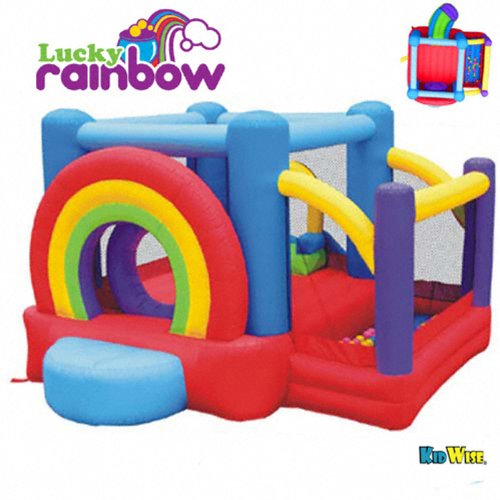 Kidwise Lucky Rainbow Bouncer front-938261