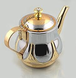 Stainless Steel Italian Gold Tea Kettle - 800 ML