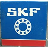 SKF FY 40 TF Ball Bearing Flange Unit, 4 Bolts, Setscrew Locking, Regreasable, Contact and Flinger Seal, Cast Iron, Metric, 40mm Bore, 101.5mm Bolt Hole Spacing Width101.5mm Bolt Hole Spacing Width