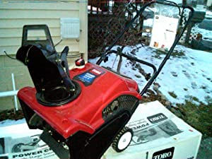 "Toro-Power Clear 210 (21"") Single Stage Snow Blower"