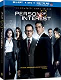 Person of Interest: The Complete Third Season [Blu-ray + DVD + UltraViolet]