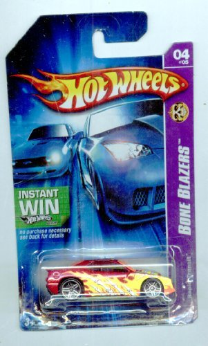 Hot Wheels 2007-084/223 Rapid Transit 04/05 Bone Blazers Instant Win Card 1:64 Scale