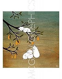 Sugar Plum Tree by Kristiana Parn, Art Print Poster 11\