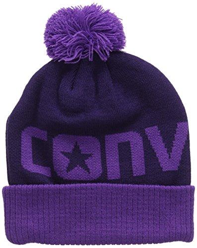Converse - Beanie, Berretto per bimbi, violetto (allium purple), unica
