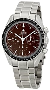Omega Men's 311.30.42.30.13.001 Speedmaster Brown Dial Watch