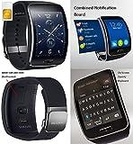 Samsung Gear S SMR750W Smart Watch SIM Phone Talk Email 3G Wifi Bluetooth Fitness - Black