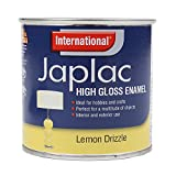 International Japlac High Gloss Enamel Paint - Lemon Drizzle - 250ml