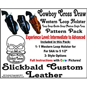 Cowboy Cross Draw Holster Pattern Pack Arts, Crafts on PopScreen