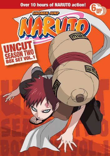Naruto Uncut Box Set: Season Two, Vol. 1