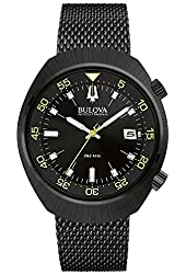 BULOVA MEN'S ACCUTRON II LOBSTER WATCH BL 98B247