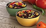 Colorful Southwest Dipping Bowls Set of 2