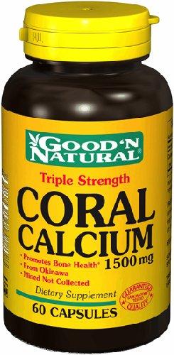 Triple 1500mg de calcium de corail Force - 60