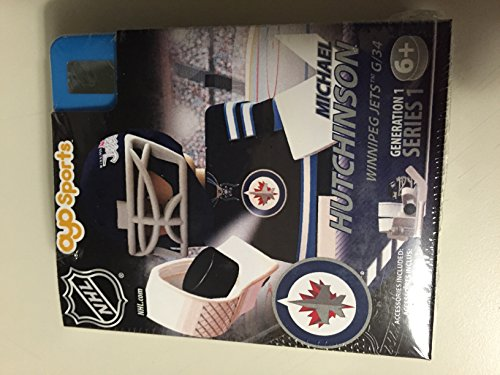 Michael Hutchinson OYO NHL Winnipeg Jets G1 Series 1 Mini Figure Limited Edition - 1
