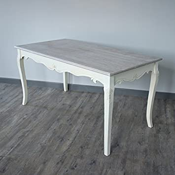 Cream Large Dining Table - Country Ash Range