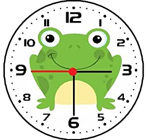Amazon Com Frog Wall Clock
