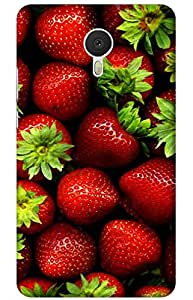 pattern Designer Printed Back Case Cover for Meizu M3 Note
