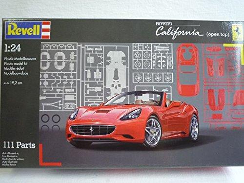 Ferrari California Cabrio Rot 07276 7276 Bausatz Kit 1/24 Revell Modellauto Modell Auto