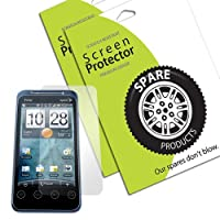 Spare Products Screen Protector Film for HTC EVO Shift - (1 Pack) Diamond