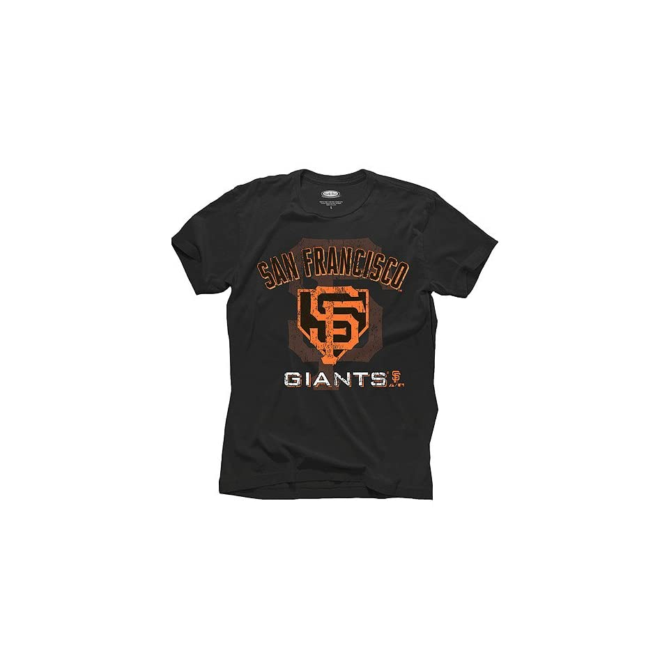 San Francisco Giants Home Plate Graphic T Shirt by Majestic Threads
