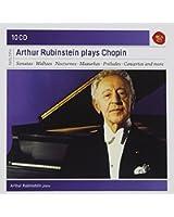 Arthur Rubinstein plays Chopin (Coffret 10 CD)