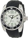 Invicta Men's 0424 Pro Diver Collection Black Polyurethane Watch