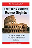 img - for Top 10 Guide to Key Rome Sights book / textbook / text book