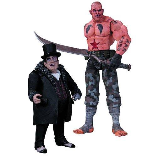 DC Collectibles Batman: Arkham City: Sickle and Penguin Action Figure, 2-Pack