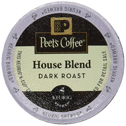 Peet's Coffee House Blend Single Cup Coffee for Keurig K-Cup Brewers 40 count (Peets Keurig Coffee Cups compare prices)