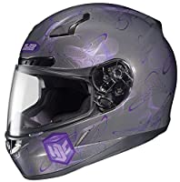 HJC CL-17 Mystic Full-Face Motorcycle Helmet (MC-11, X-Small) by HJC