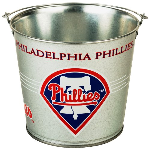 MLB Philadelphia Phillies 5-Quart Galvanized Pail at Amazon.com
