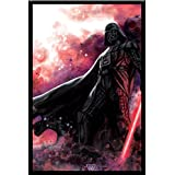 Darth Vader Star Wars - Wood Framed Poster S-WP1389 For Home/Office Décor