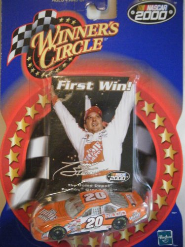 2000 Winner's Circle #20 Tony Stewart first win 1:64 scale diecast home depot car - 1