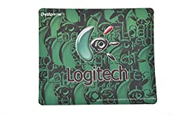 Generic Logitech Mouse Pad(Green)