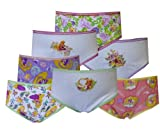 Disney Tangled Rapunzel 7 Pack Girls Brief Style Panties for girls