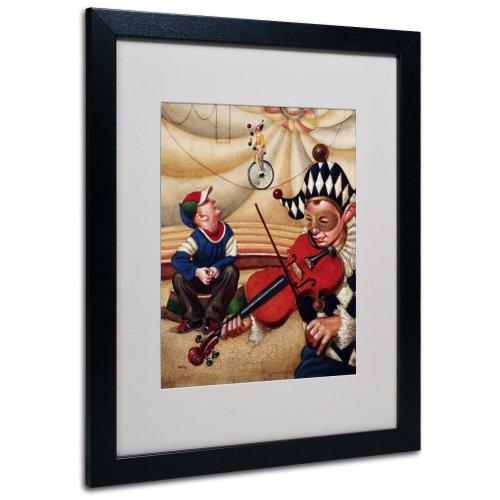 Trademark Fine Art Calandurim Artwork By Edgar Barrios, Black Frame, 16 By 20-Inch front-927548