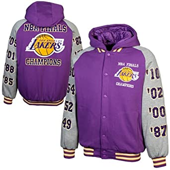 Los Angeles Lakers Sixteen Time Championship Fleece Jacket by G-III Sports