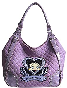 Birthday Christmas Combo - Classic Beauty Betty Boop Elegant Purse, and Causal Betty Boop Backpack Set