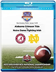 2013 Discover BCS National Championship Game [DVD/Blu-ray Combo]