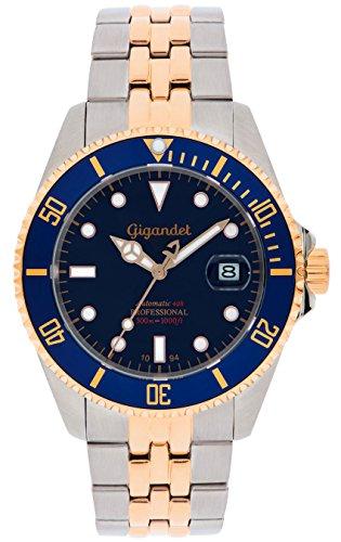 Gigandet G2-021 - Reloj para hombres, correa de acero inoxidable